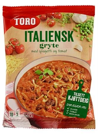 Italiensk Gryterett Med Kjøttdeig